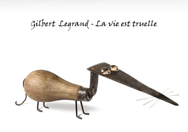 Moderne Skulpturen französische Künstler Gilbert Legrand 3d kunst