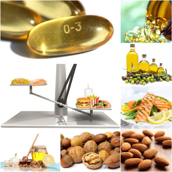 Omega 3 Fettsäuren Omega 6 Fettsäuren gesund leben