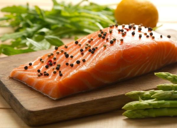 Omega 3 Fettsäuren Omega 6 Fettsäuren lachs gesund essen