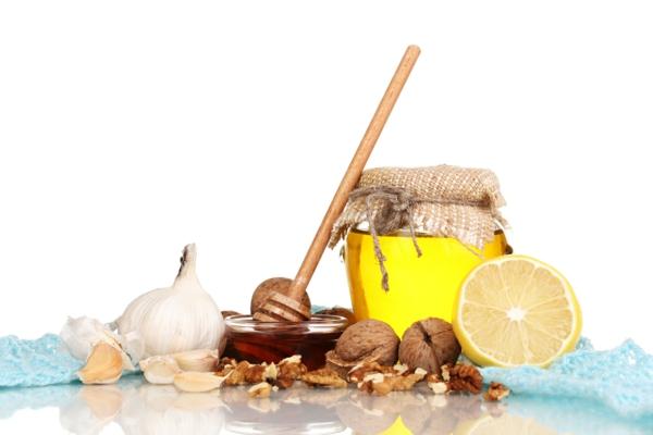 Omega 3 Fettsäuren Omega 6 Fettsäuren nahrung honig zitronen erdnüsse