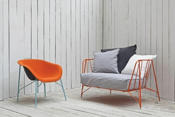 Paola Navone möbeldesigner designer sessel grelle farben
