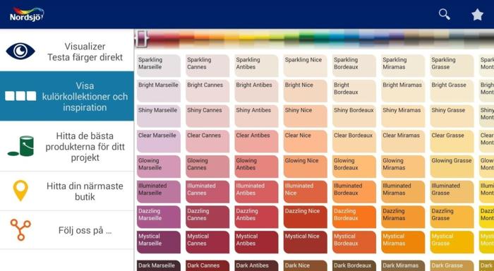 Psychologie der Farben Levis Visualizer pc programm wandgestaltung ideen