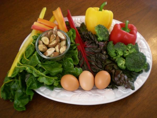 Sternzeichen Krebs gesunde ernährung gemüse