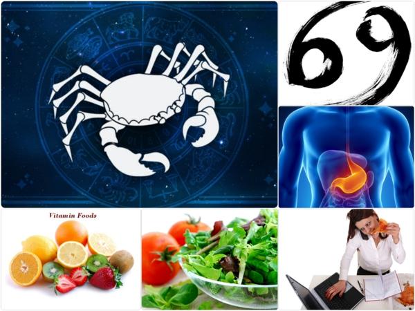 Sternzeichen Krebs zeichen horoskope ernährung tipps