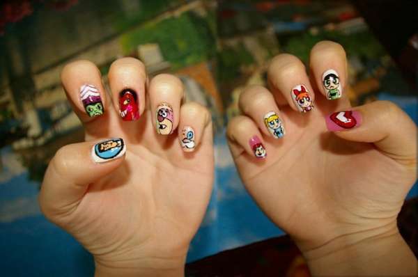 The Powerpuff Gurls nagellack desislava hadzhiyska