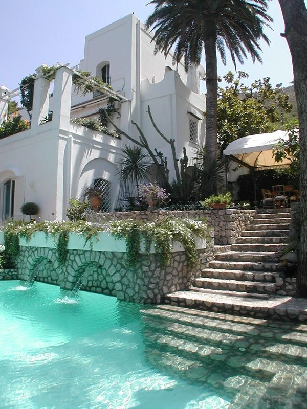 Villa Le Scale insel Capri designer Francesco Della Femina wohnideen