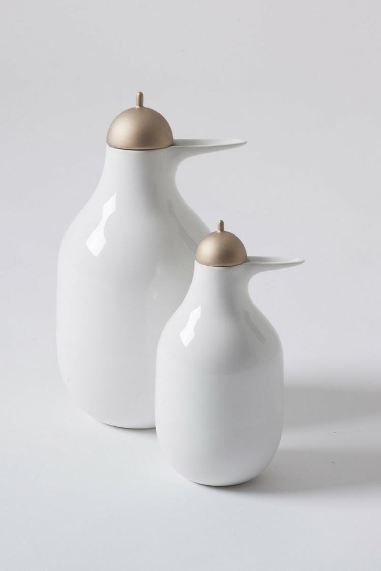 Wohnaccessoires Bosa keramik design pellicano teekane weiß