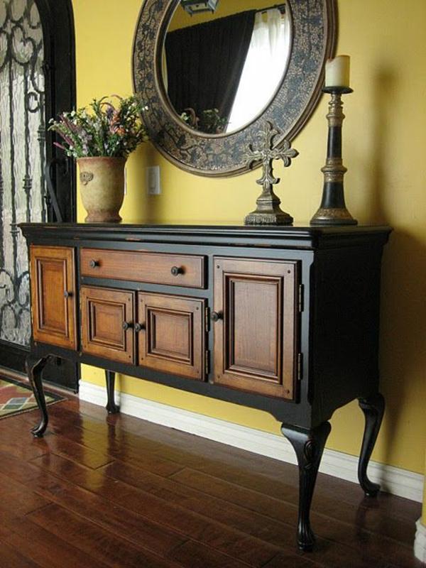 alte möbel neu gestalten holz kommoden restaurieren kolonialstil