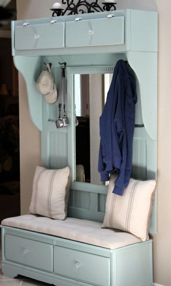 alte möbel restaurieren alte möbel neu gestalten flur möbel garderobe
