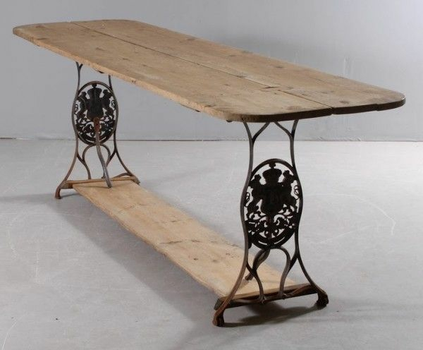 Wohnzimmertisch Neu Gestalten Restaurieren Alte Mbel N U00e4hmaschine Tisch Holzplatten