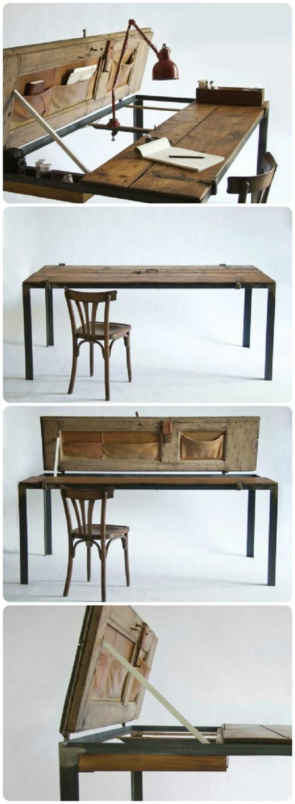 alte möbel restaurieren alte möbel neu gestalten tisch alte tür