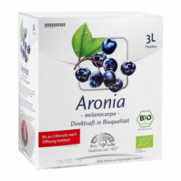 aronia wirkung gesund leben bio direktsaft