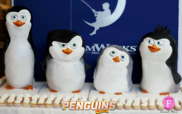 ausgefallene kuchen penguins of madagascar fernanda abarca