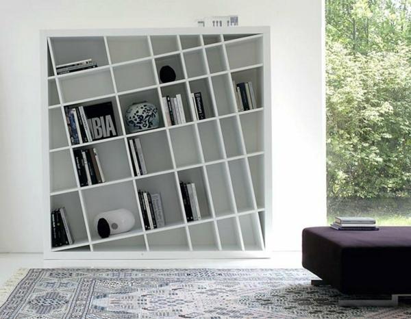 Moderne Regalsysteme bücherregal wand designer wandregale im wohnzimmer