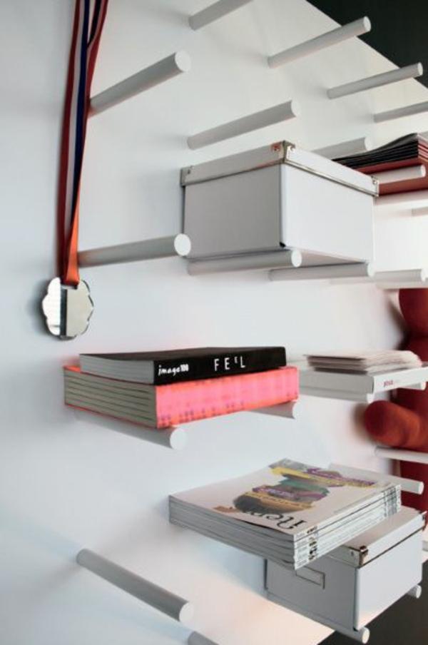 bücherregal wand kwan designer regalsysteme studio ditte