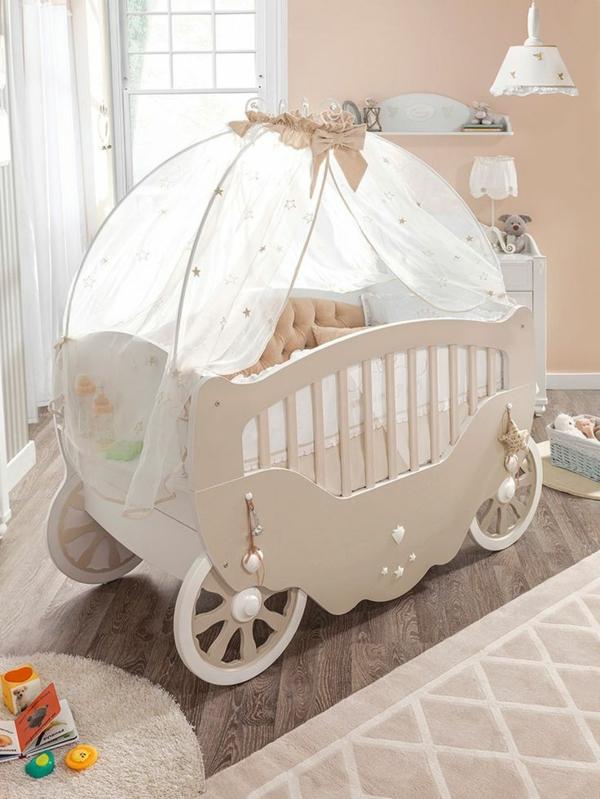 Babybettchen Designs für das niedliche Babyzimmer Interieur