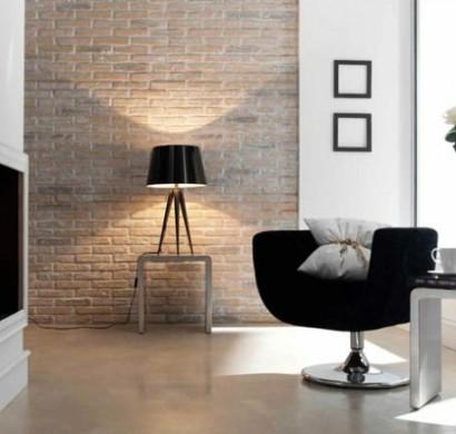 Wanddeko Selber Machen: Gefälschte Backsteinwand Als Rustikale Dekoration