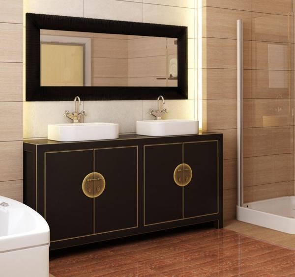 Stilvolle badeinrichtung moderne interpretation der for Antike waschtische