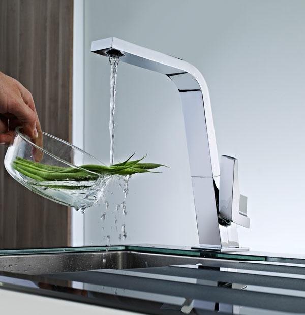 stilvolle badeinrichtung - moderne interpretation der vergangenheit - Spüle Armatur Küche