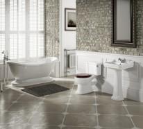 Stilvolle Badeinrichtung – moderne Interpretation der Vergangenheit