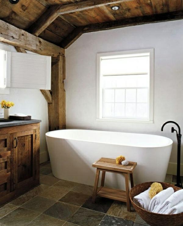 Badewanne Freistehend Rustukal Badezimmer Beispiele