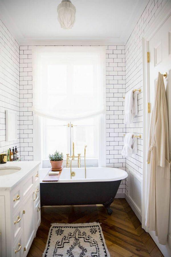 badewanne freistehend schwarz badezimmer beispiele