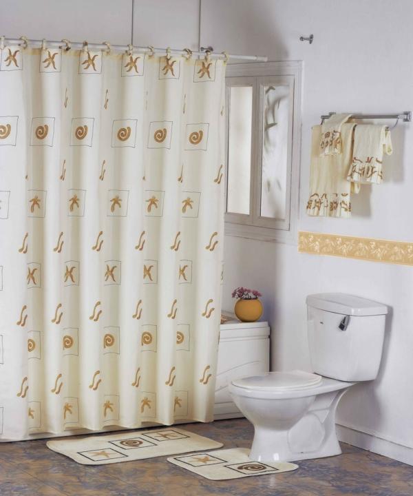 Muster Badezimmer Frisch : Badezimmer vorhang schöne muster und farben im bad
