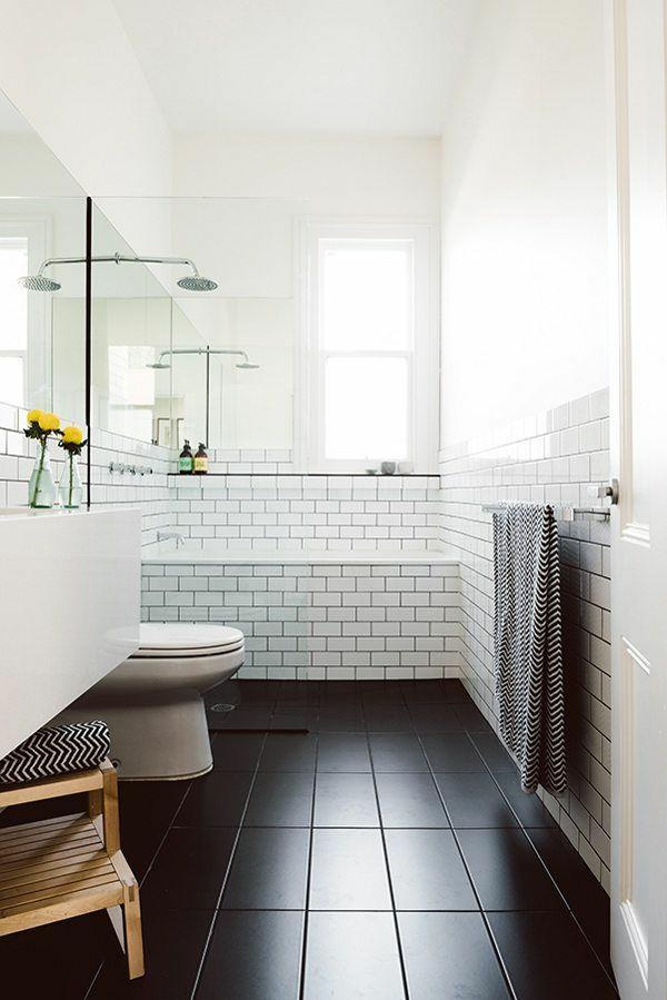 badezimmergestaltung mit fliesen badewanne einfliesen - Moderne Badezimmergestaltung Beispiele