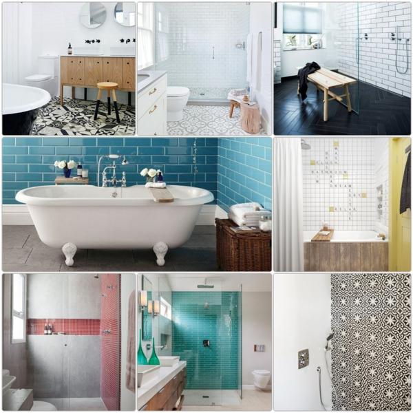Beispiele Badezimmergestaltung badezimmergestaltung mit fliesen interessante beispiele und tipps