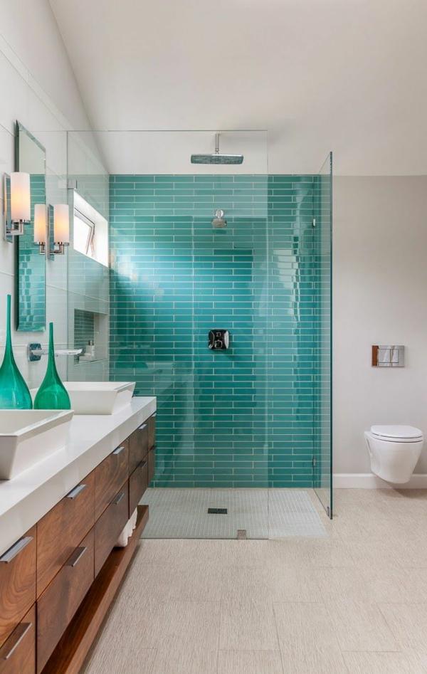 Badezimmergestaltung mit fliesen interessante beispiele und tipps - Badezimmergestaltung fliesen ...