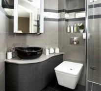 Kleines Bad funktionell gestalten - Schöne Interieur Lösungen