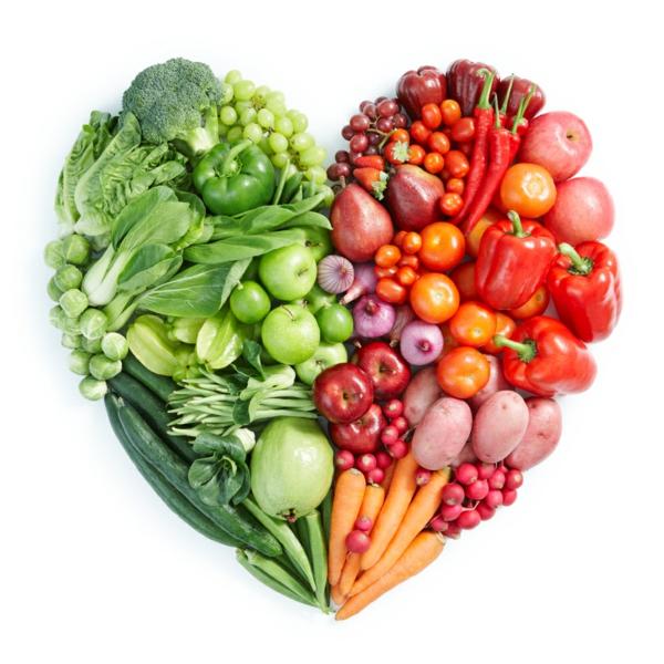 basische lebensmittel frisches obst gemüse