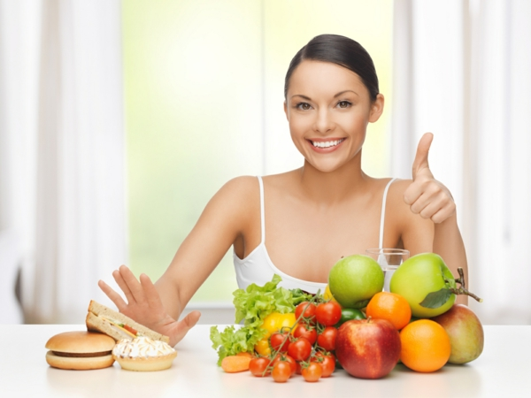 basische lebensmittel frische früchte gemüse