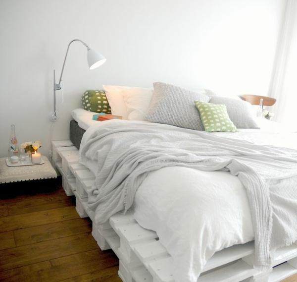 bett aus paletten schlafzimmer möbel selber bauen