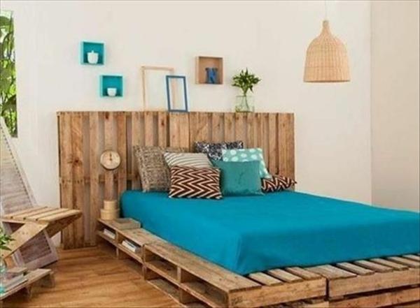 bett aus paletten selber bauen schlafzimmer möbel europalletten