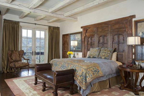 30 erfinderische bettkopfteil ideen f r ein ausgefallenes schlafzimmer. Black Bedroom Furniture Sets. Home Design Ideas