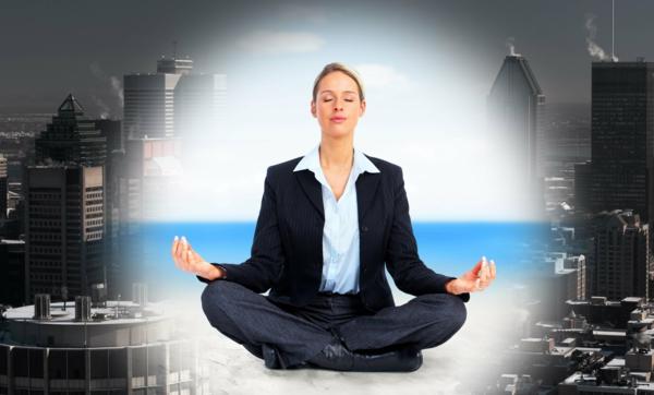 bewerbungsgespräch entspannungstechniken yoga meditation