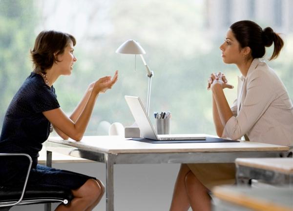 bewerbungsgespräch interview dialog
