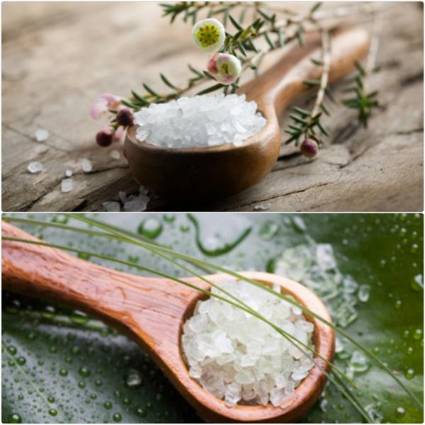 bittersalz dosierung wirkung badesalz selbst herstellen