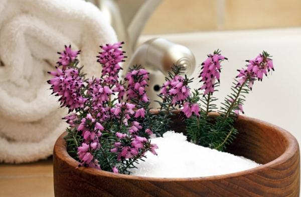 bittersalz wirkung badesalz selbst herstellen aromatherapie