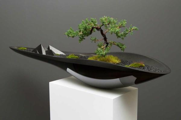 blumenkübel design bonsai gebirge