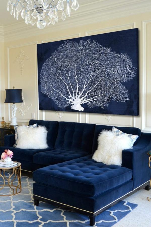 design klassiker möbel designer sofa blau