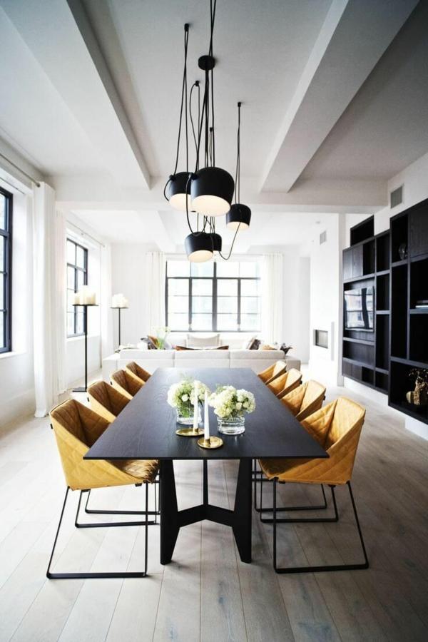 design outlet möbel skandinavisch esszimmertisch mit stühlen