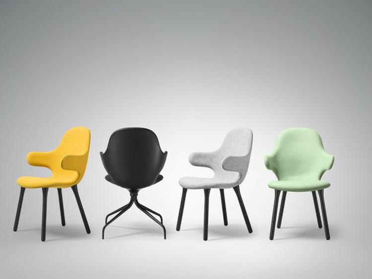 design stühle Catch Chair &Tradition form und farbe