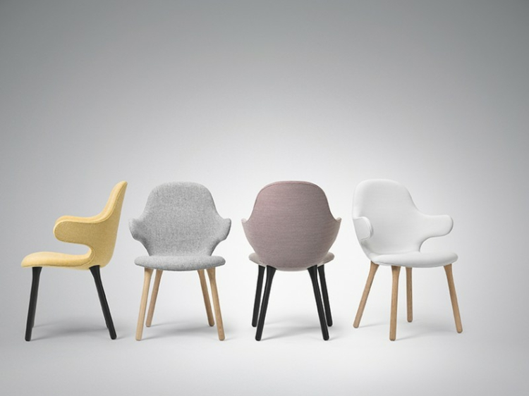 desig stühle Catch Chair &Tradition pastellfarben