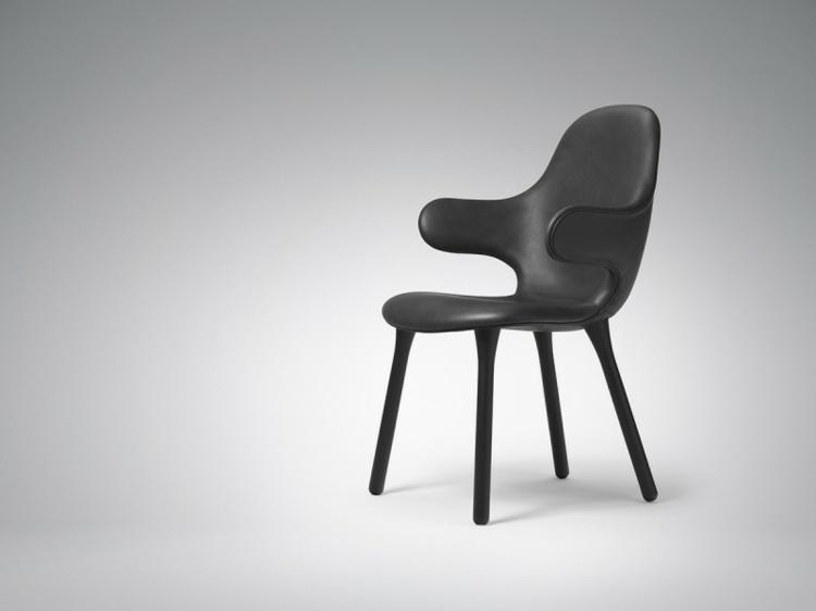 design stühle Catch Chair &Tradition schwarz stühlbeine