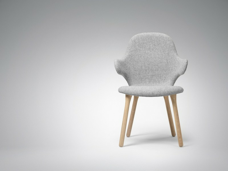 designer stühle Catch Chair hayon für Tradition grau designermöbel