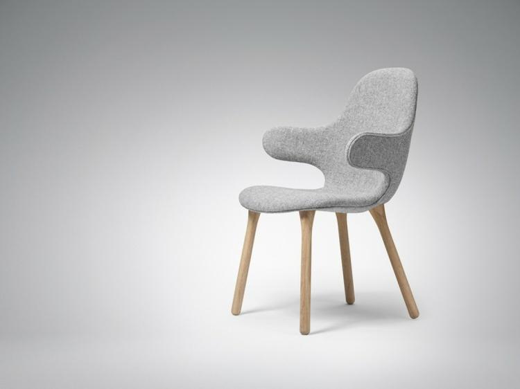 designer stühle Catch Chair hayon für Tradition grau