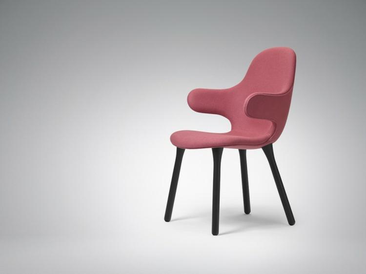 designer stühle Catch Chair hayon für &Tradition lachsrot