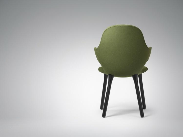 designer stühle Catch Chair hayon für &Tradition rückenansicht